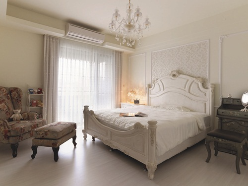 欧式卧室门框造型